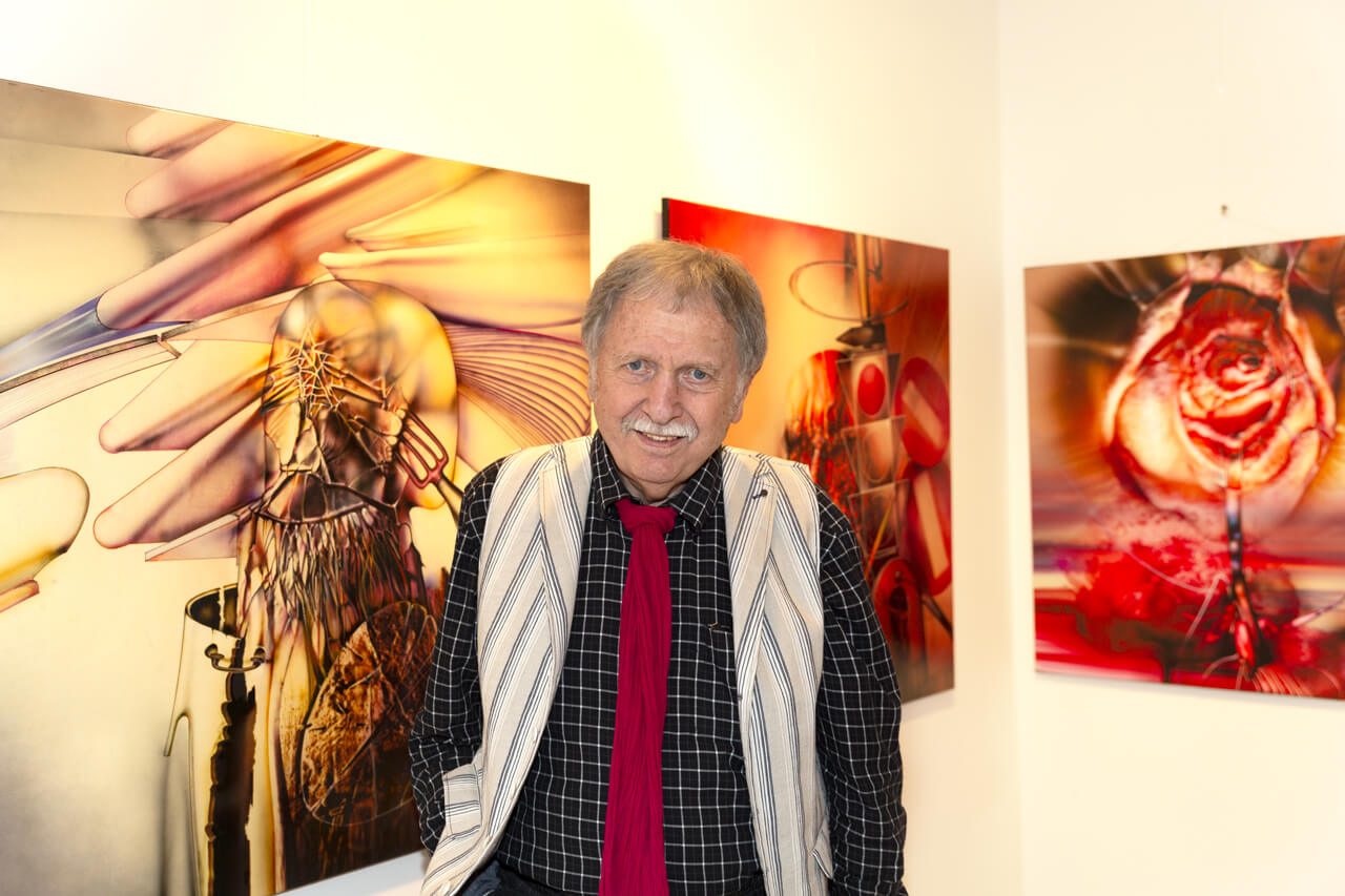 Radu Maier und seine moderne Bilder
