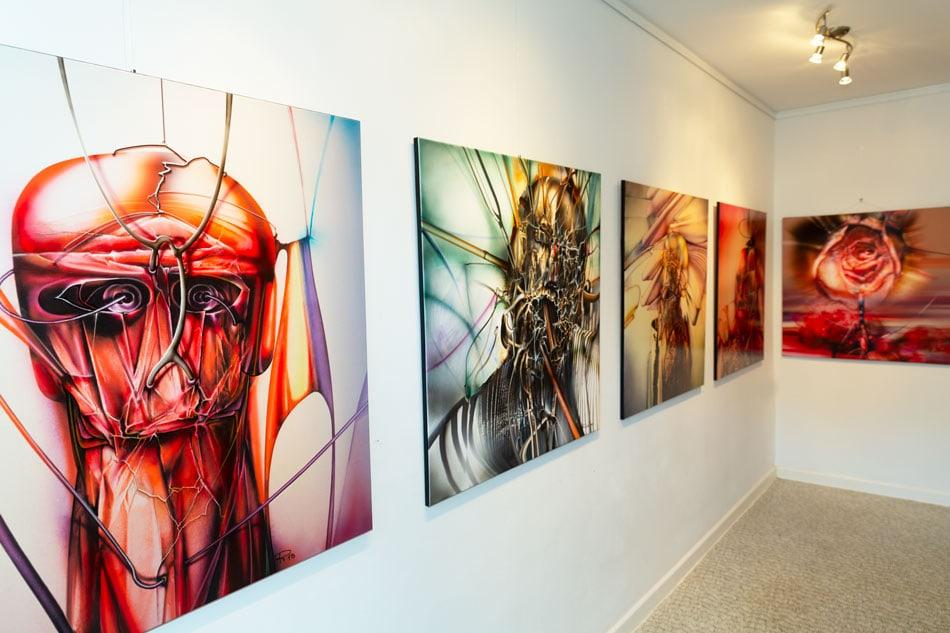 Einblicke in der Portraits Ausstellung mit Radu Maier - | Galerie Raduart