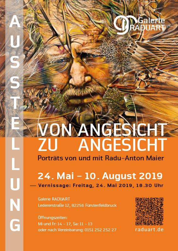 Expoziție personală cu portrete și autoportrete de Radu Maier în Fürstenfeldbruck