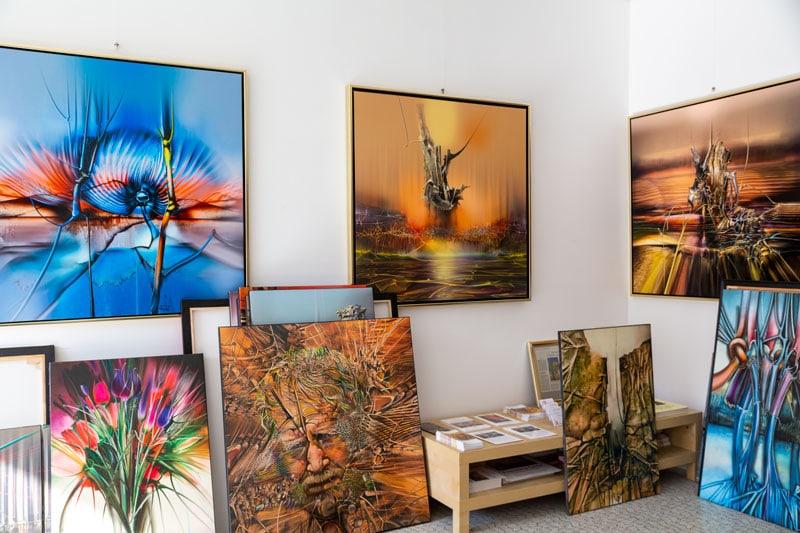 Galerie Raduart Dauerausstellung - | Galerie Raduart