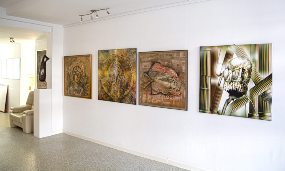 Galerie Raduart Fuerstenfeldbruck Innenraum - | Galerie Raduart