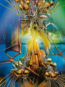 Himmelswurzeln 120x90 Radu Maier Landschaftsmalerei - | Galerie Raduart
