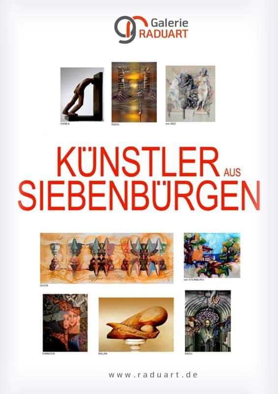 """Gruppenausstellung """"Künstler aus Siebenbürgen"""" in der Galerie RADUART"""