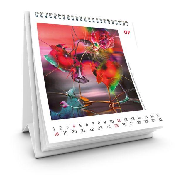 Kunstkalender 2021 Juli Radu Maier - | Galerie Raduart