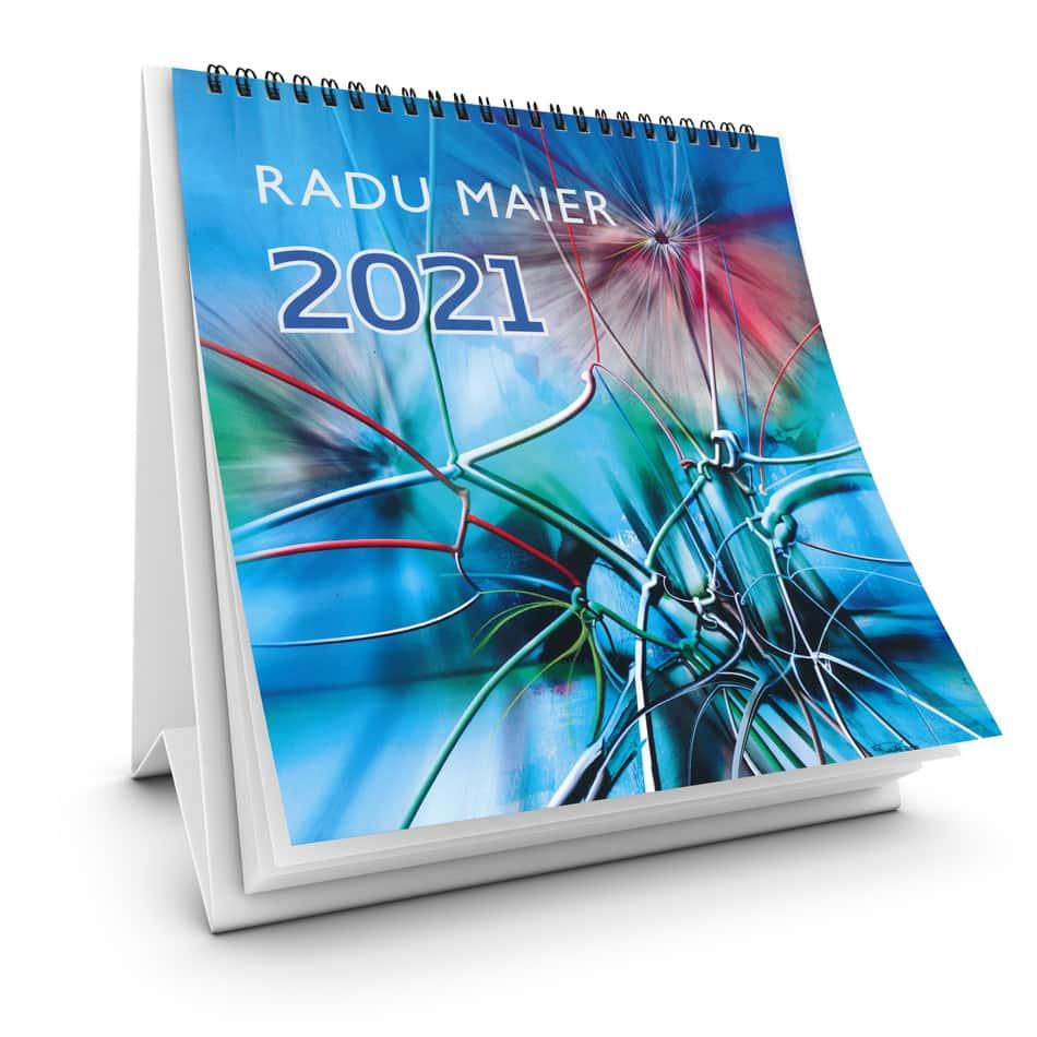 Kunstkalender 2021 Titelseite Radu Maier - | Galerie Raduart