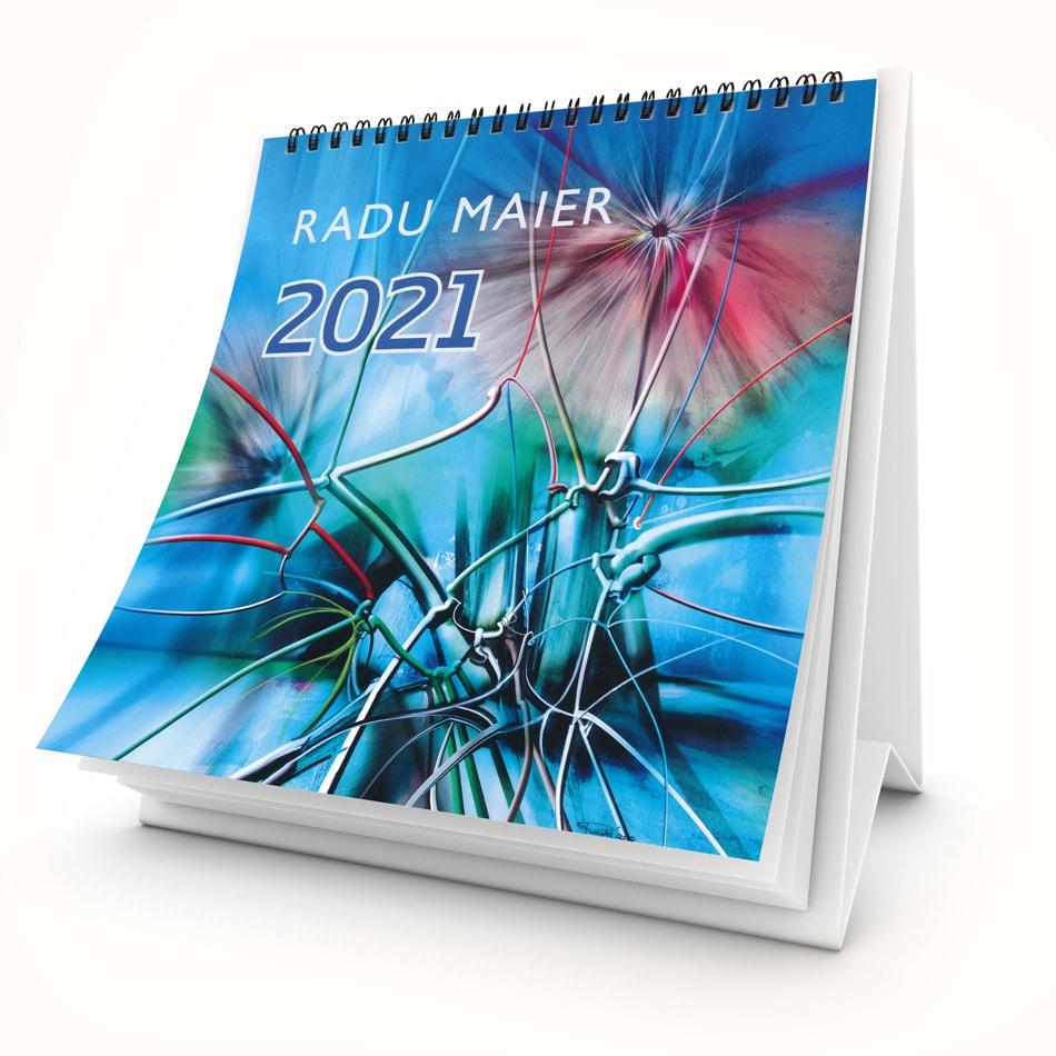 Kunstkalender 2021 Titelseite1 Radu Maier - | Galerie Raduart