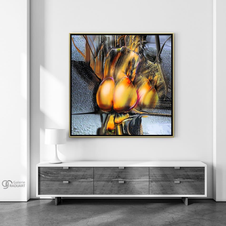 Moderne Aktmalerei 'Spiegelung IX' für Ihre Wohnung