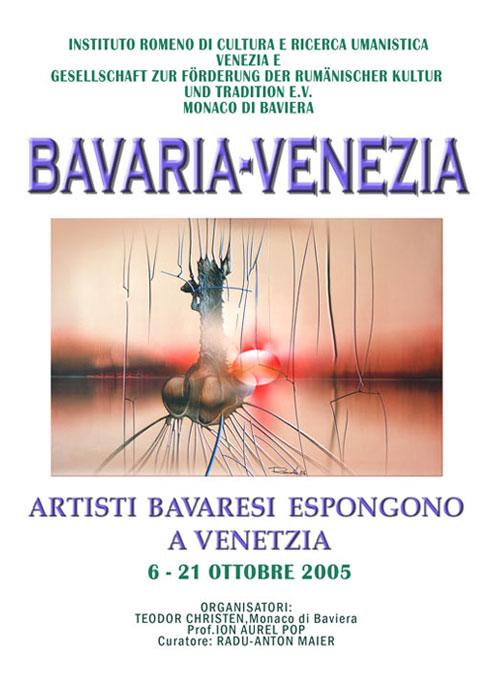 ausstellung bavaria venezia 6 21 oktober 2005 - | Galerie Raduart