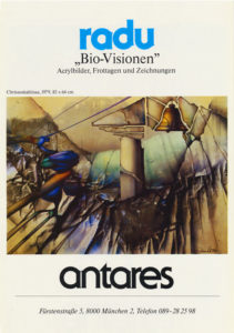 ausstellung radu bio visionen mai 2 juni 1981 - | Galerie Raduart