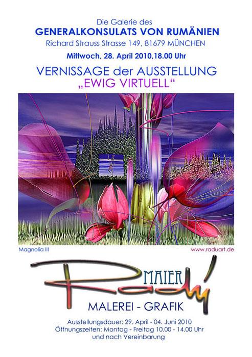 ausstellung radu ewig virtuell 28 april 4 juni 2010 - | Galerie Raduart