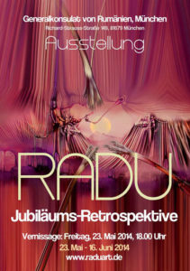ausstellung radu jubilaeumsretrospektive 23 mai 16 juni 2014 - | Galerie Raduart