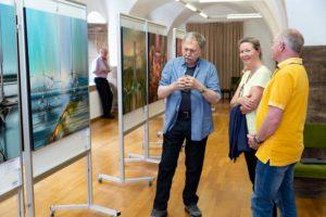 der kuenstler erklaert die serie venedig laguna malata - | Galerie Raduart
