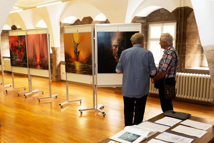 diskussion ueber lucian blaga - | Galerie Raduart